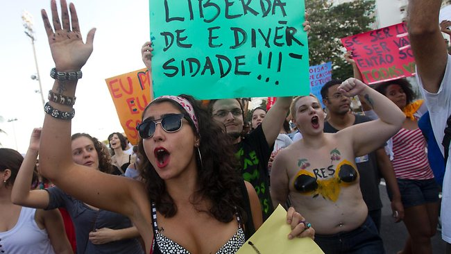 Braziliansprotest